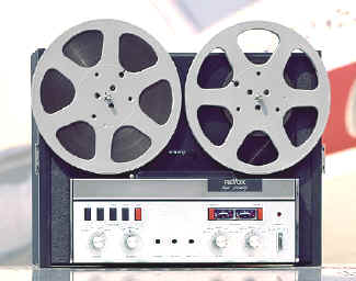 Revox suitcase tape recorder A77